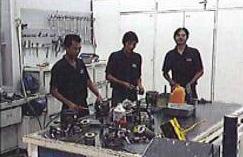 Professional service team