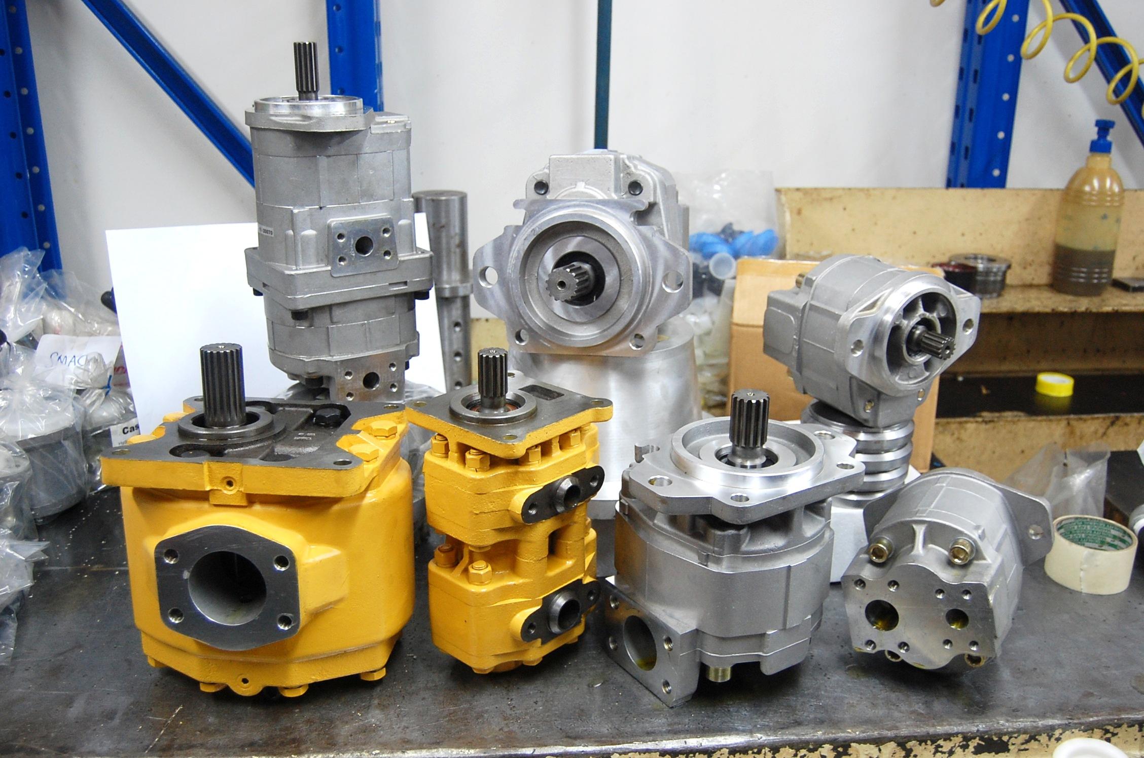 kappa komatsu gear pump